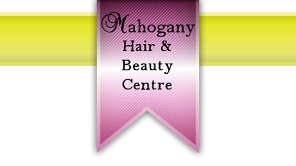 Mahogany Hair Salon Graphic